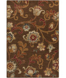 RugStudio presents Surya Arabesque ABS-3016 Charcoal / Red / Green Machine Woven, Good Quality Area Rug