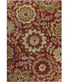 RugStudio presents Surya Arabesque ABS-3017 Green / Red / Neutral / Violet (purple) Area Rug