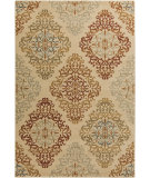RugStudio presents Surya Arabesque ABS-3018 Green / Red / Violet (purple) Area Rug