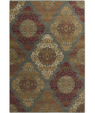 RugStudio presents Surya Arabesque ABS-3022 Burgundy Machine Woven, Good Quality Area Rug