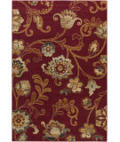 RugStudio presents Surya Arabesque ABS-3024 Burgundy Machine Woven, Good Quality Area Rug