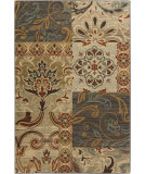 RugStudio presents Surya Arabesque ABS-3026 Green / Neutral / Red Area Rug