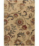 RugStudio presents Surya Arabesque ABS-3027 Green / Red / Neutral / Violet (purple) Area Rug