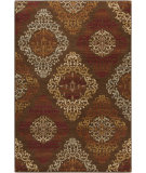 RugStudio presents Surya Arabesque ABS-3028 Neutral / Red / Violet (purple) / Green Area Rug