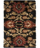 RugStudio presents Surya Alfredo Afr-3313 Jet Black Machine Woven, Good Quality Area Rug
