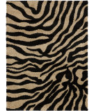 RugStudio presents Surya Alfredo Afr-3325 Jet Black Machine Woven, Good Quality Area Rug