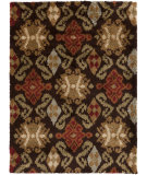 RugStudio presents Surya Alfredo AFR-3329 Dark Brown Machine Woven, Good Quality Area Rug