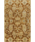 RugStudio presents Surya Ainsley AIN-1015 Beige / Green / Rust Hand-Knotted, Best Quality Area Rug
