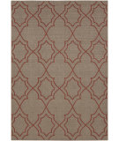 RugStudio presents Surya Alfresco ALF-9588 Taupe / Red Machine Woven, Good Quality Area Rug