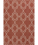 RugStudio presents Surya Alfresco ALF-9591 Ivory / Red Machine Woven, Good Quality Area Rug