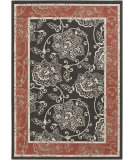 RugStudio presents Surya Alfresco ALF-9592 Beige / Green / Red Hand-Hooked Area Rug