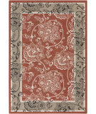 RugStudio presents Surya Alfresco ALF-9593 Beige / Green / Red Machine Woven, Good Quality Area Rug