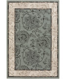 RugStudio presents Surya Alfresco ALF-9594 Black / Green Machine Woven, Good Quality Area Rug