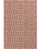 RugStudio presents Surya Alfresco ALF-9602 Beige / Red Machine Woven, Good Quality Area Rug