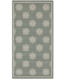 RugStudio presents Surya Alfresco ALF-9606 Beige / Green Machine Woven, Good Quality Area Rug