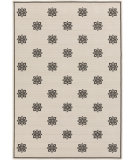 RugStudio presents Surya Alfresco ALF-9610 Black / Beige Machine Woven, Good Quality Area Rug
