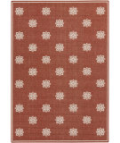 RugStudio presents Surya Alfresco ALF-9611 Beige / Red Machine Woven, Good Quality Area Rug