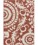 RugStudio presents Surya Alfresco ALF-9613 Beige / Red Hand-Hooked Area Rug