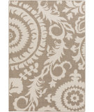 RugStudio presents Surya Alfresco ALF-9616 Beige Machine Woven, Good Quality Area Rug