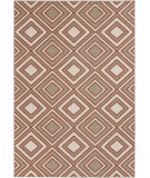 RugStudio presents Surya Alfresco ALF-9618 Beige / Red Hand-Hooked Area Rug