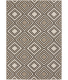 RugStudio presents Surya Alfresco ALF-9619 Black / Taupe Machine Woven, Good Quality Area Rug