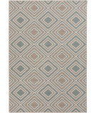 RugStudio presents Surya Alfresco ALF-9620 Ivory / Moss Machine Woven, Good Quality Area Rug
