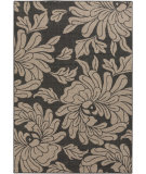RugStudio presents Surya Alfresco ALF-9621 Black / Taupe Machine Woven, Good Quality Area Rug