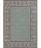 RugStudio presents Surya Alfresco ALF-9625 Black / Green Machine Woven, Good Quality Area Rug