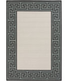 RugStudio presents Surya Alfresco ALF-9627 Black / Green Machine Woven, Good Quality Area Rug