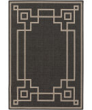 RugStudio presents Surya Alfresco ALF-9630 Black Machine Woven, Good Quality Area Rug