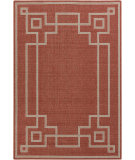 RugStudio presents Surya Alfresco ALF-9631 Beige / Red Machine Woven, Good Quality Area Rug