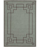 RugStudio presents Surya Alfresco ALF-9632 Black / Green Machine Woven, Good Quality Area Rug