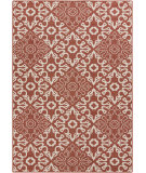 RugStudio presents Surya Alfresco ALF-9636 Beige / Red Flat-Woven Area Rug