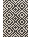 RugStudio presents Surya Alfresco ALF-9639 Black / Beige Flat-Woven Area Rug