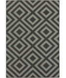 RugStudio presents Surya Alfresco ALF-9640 Black Flat-Woven Area Rug