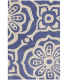 RugStudio presents Surya Alhambra ALH-5004 Beige / Blue Hand-Tufted, Good Quality Area Rug
