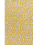 RugStudio presents Surya Alhambra ALH-5005 Gold / Ivory Hand-Tufted, Good Quality Area Rug