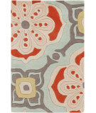 RugStudio presents Surya Alhambra ALH-5007 Salmon / Red Hand-Tufted, Good Quality Area Rug