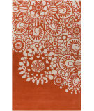 RugStudio presents Surya Alhambra ALH-5009 Ivory / Poppy Hand-Tufted, Good Quality Area Rug