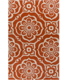 RugStudio presents Surya Alhambra ALH-5012 Poppy / Ivory Hand-Tufted, Good Quality Area Rug