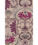 RugStudio presents Surya Alhambra ALH-5016 Eggplant / Ivory Hand-Tufted, Good Quality Area Rug