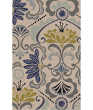 RugStudio presents Surya Alhambra ALH-5017 Neutral / Green / Yellow / Blue Area Rug
