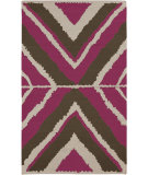 RugStudio presents Rugstudio Sample Sale 87918R Magenta Woven Area Rug