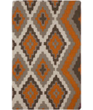 RugStudio presents Rugstudio Sample Sale 87920R Pumpkin Flat-Woven Area Rug