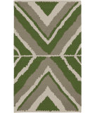 RugStudio presents Surya Alameda AMD-1045 Spinach Green Flat-Woven Area Rug