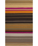 RugStudio presents Surya Alameda AMD-1051 Neutral / Orange / Violet (purple) Area Rug