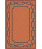 RugStudio presents Surya Alameda AMD-1059 Orange / Violet (purple) Area Rug
