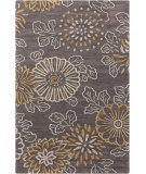 RugStudio presents Surya Ameila AME-2230 Charcoal / Blue / Orange Hand-Tufted, Good Quality Area Rug