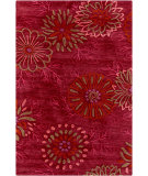 RugStudio presents Surya Ameila AME-2231 Burgundy / Pink / Red Hand-Tufted, Good Quality Area Rug