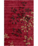 RugStudio presents Surya Ameila AME-2233 Burgundy / Cherry / Chocolate Hand-Tufted, Good Quality Area Rug